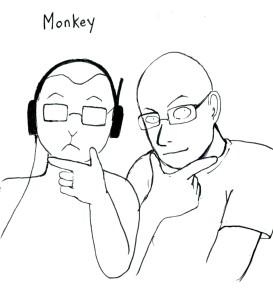 Monkey profile180